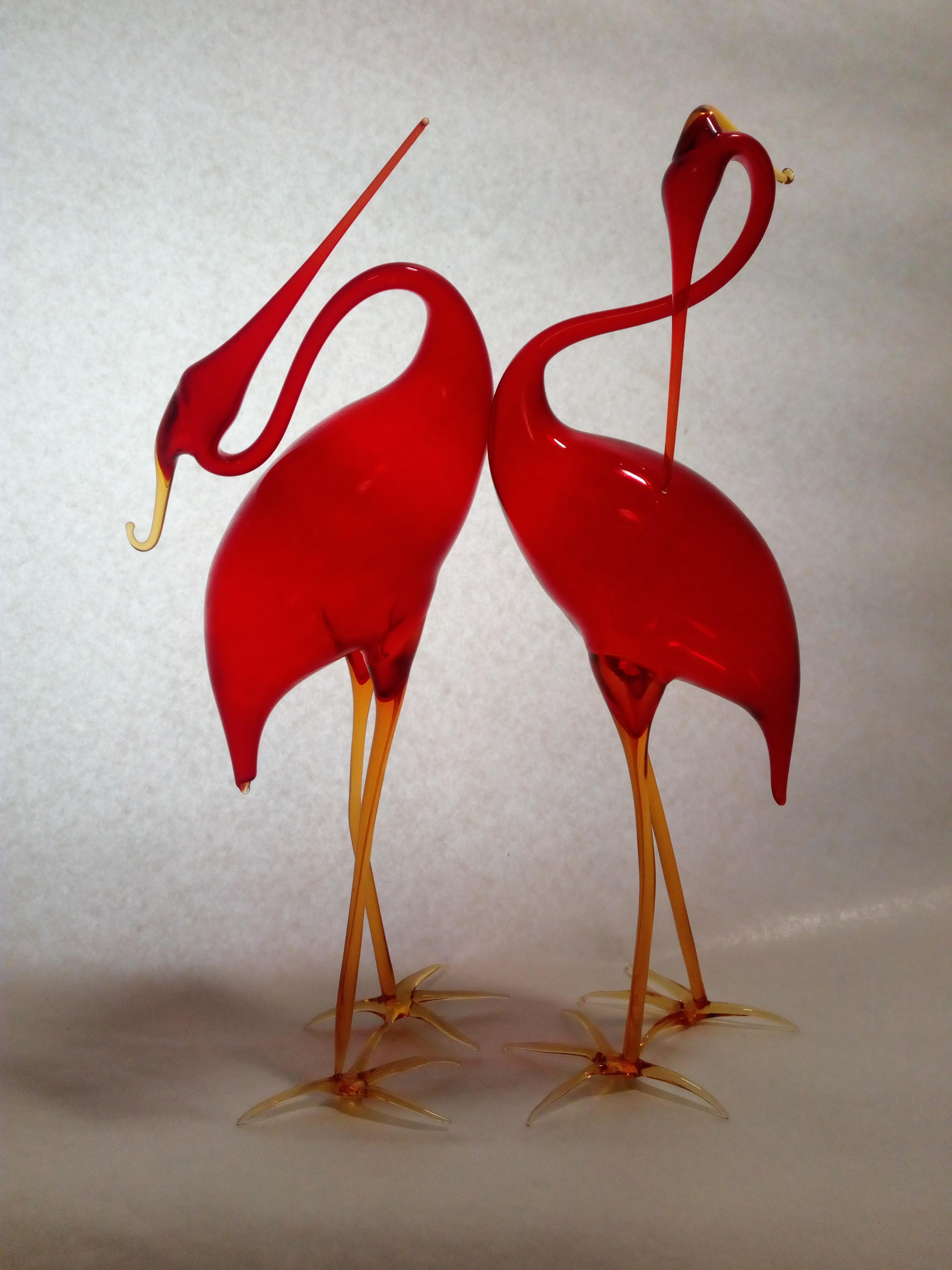 Volavky - červené